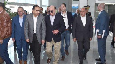 زيارة مصطفى مدبولي لمصنع شركة سان جوبان للزجاج