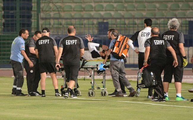 إصابة محمود عبد الرحيم جنش