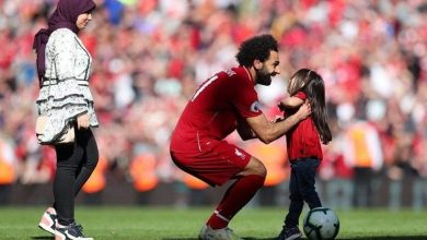 اللاعب المصري محمد صلاح