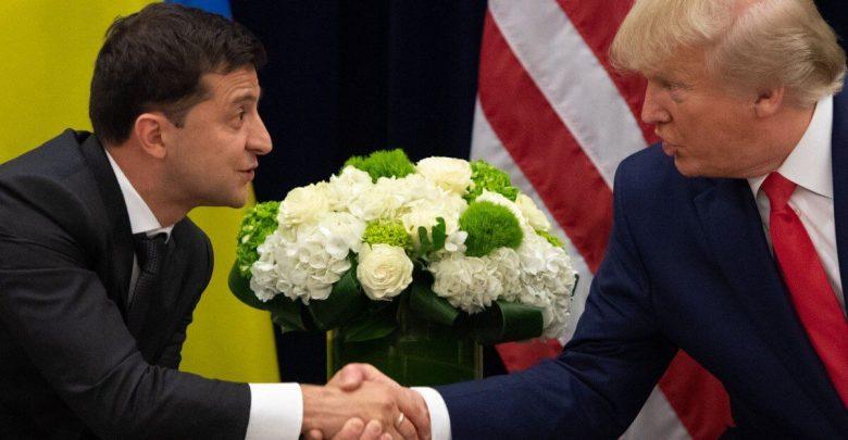 مكالمة ترامب مع الرئيس الأوكراني