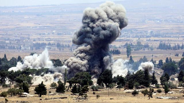 الضربات الجوية الإسرائيلية في سوريا