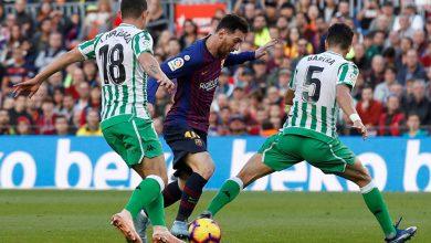 مباراة ريال بيتيس ضد برشلونة